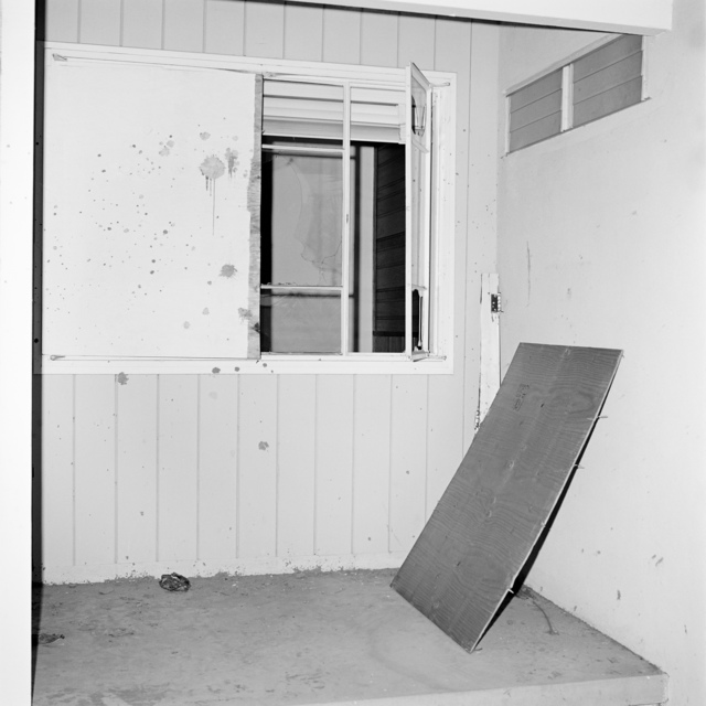 , 'LAX NAZ, Forced Entries / Site 28(LAX6016F06), (Exterior View A),' 1975/2006, Laura Bartlett