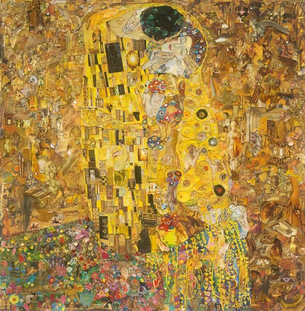 , 'Belvedere Museum (The Kiss after Klimt) (Repro),' 2017, Ben Brown Fine Arts
