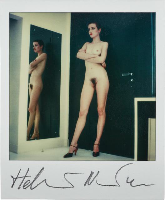 Helmut Newton, 'Nude in mirror', n.d., Phillips