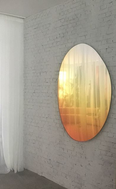 , 'Off Round Hue Mirror #4 in Sunrise ,' 2018, Etage Projects