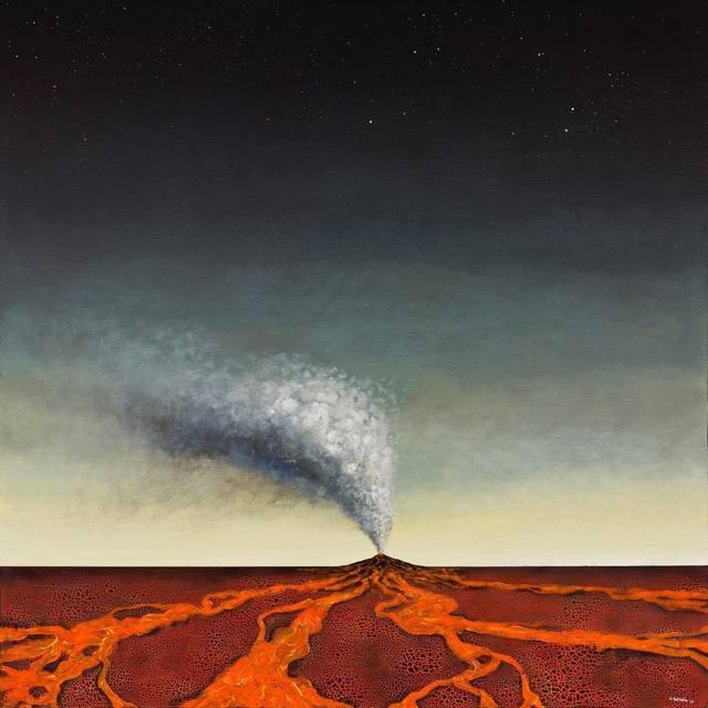 , 'Volcano,' 2017, Abode