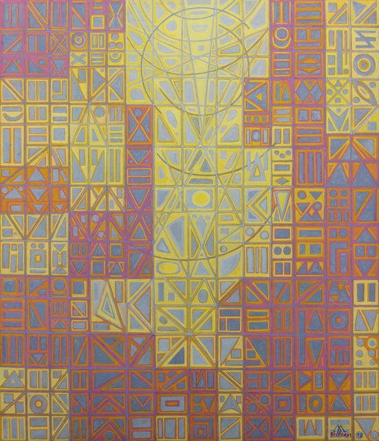 , 'Mosaic,' 1975, Addison Rowe Gallery