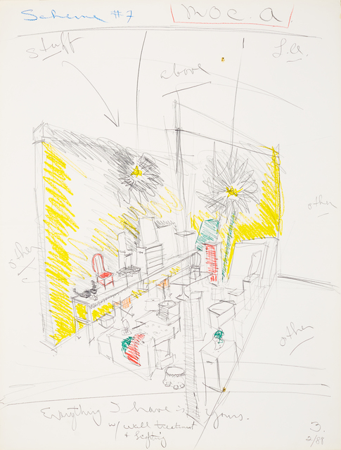 , 'Untitled (Scheme #7 M.O.C.A. L.A.),' 1988, The 500 Capp Street Foundation