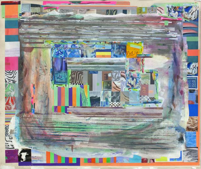 , 'blueblackhandsaspurplegreen,' 2014, Federico Luger (FL GALLERY)