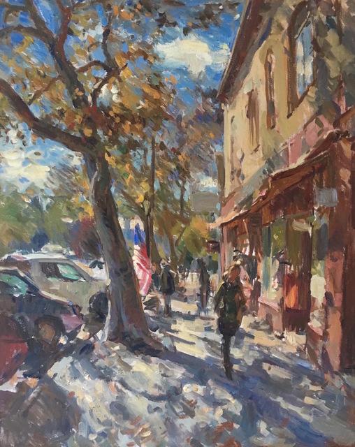 , 'Main Street,' 2016, Grenning Gallery