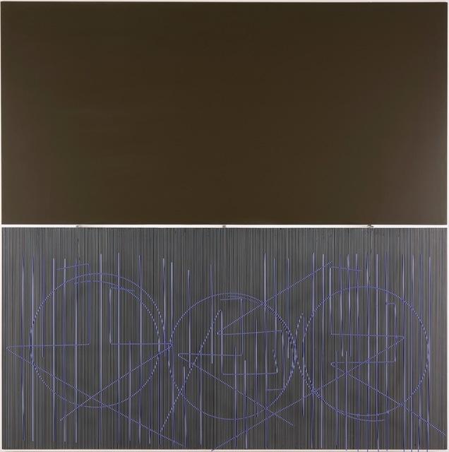 , 'Escritura Viola ,' 2002, Ascaso Gallery