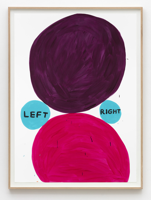 , 'Untitled (Left right),' 2015, Galleri Nicolai Wallner