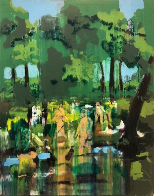 ", '""Bacchanal"",' 2018, Adah Rose Gallery"