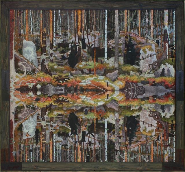 , 'Dibewagendamowin (995),' 2017, Alexandre Gallery