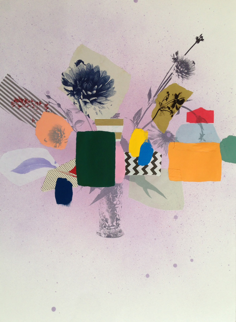 , 'Paper Bouquet (Crystal Vase),' 2017, Newzones