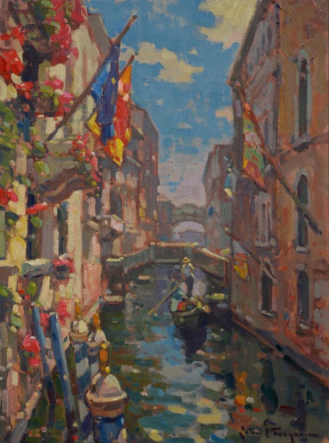 , 'Colors of Venice (Gondola Ride),' , J. Cacciola Gallery