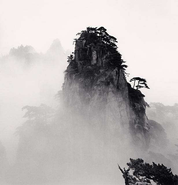 Michael Kenna, 'Huangshan Mountains, Study 11, Anhui, China', 2008, Weston Gallery