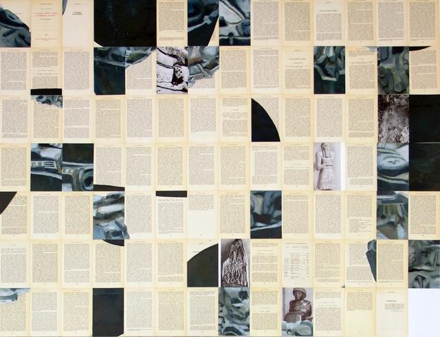 , 'Piezas sueltas en la historia occidental (Sayhuite),' 2014, Galería Juana de Aizpuru