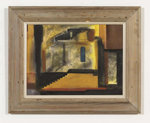 , 'Yellow House,' mid century, Russo Lee Gallery