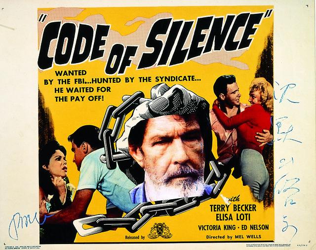 , 'Code of Silence,' 1994, Galerie Bhak