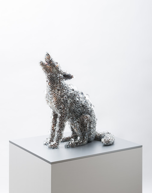 , 'PixCell-Coyote#4,' 2014, SCAI The Bathhouse