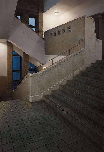 , 'Stairway#5-museum,' 2009, Aki Gallery