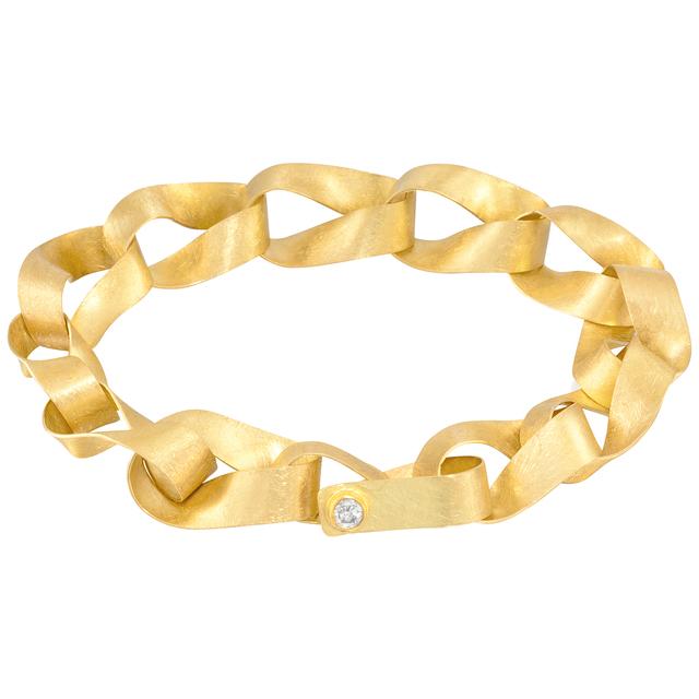 , 'Handmade Gold Link Bracelet,' 2017, Szor Collections