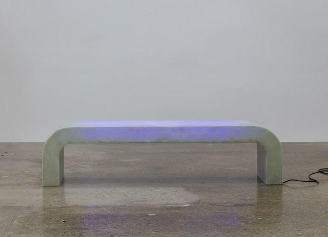 , 'Courtyard, Fiberglass Bench,' 2017, Kayne Griffin Corcoran