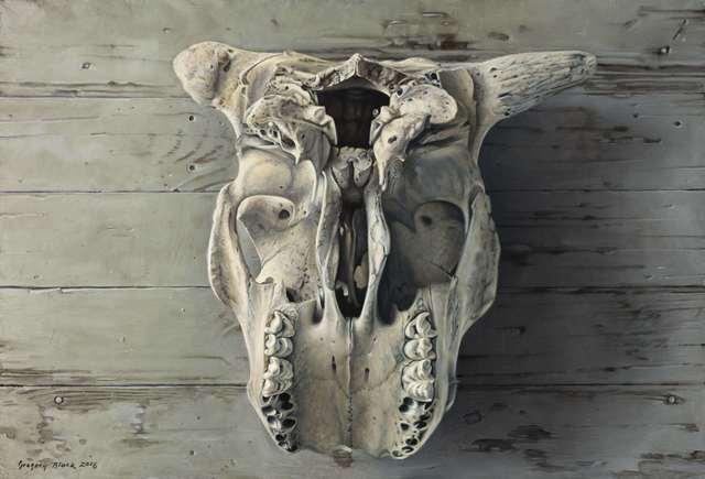 , 'Cow Skull,' , Gallery 1261