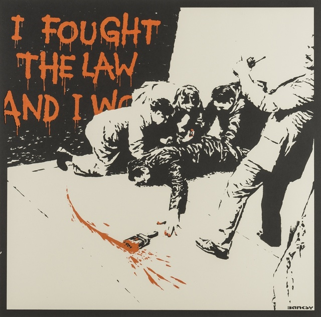 Banksy, 'I Fought the Law', 2004, Forum Auctions