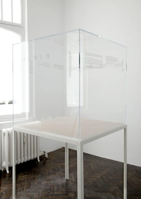 , 'Untitled (Dust),' 2011, Meessen De Clercq