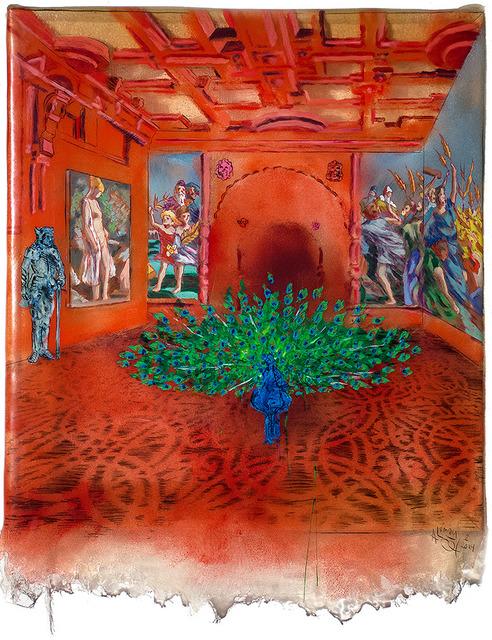 , 'The Peacock Room,' 2014, Linda Warren Projects
