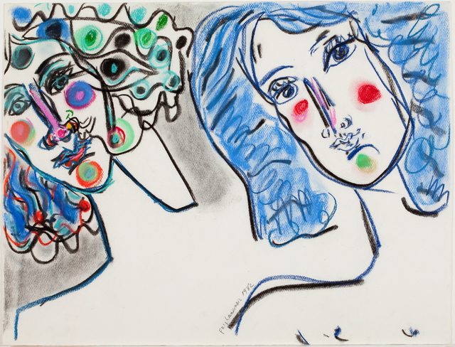 , 'Two Heads,' 1982, Quogue Gallery