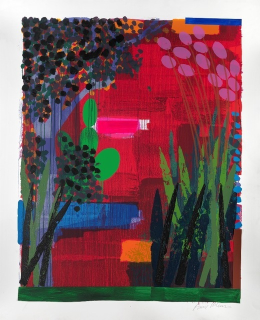 , 'Garden Red,' 2012, Jill George Gallery