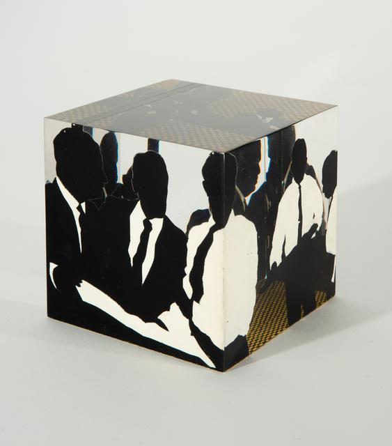 Idelle Weber, 'Cube', 1968, Sculpture, Silkscreened Lucite, Hollis Taggart