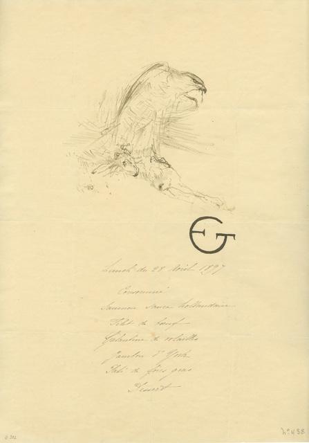 Henri de Toulouse-Lautrec, 'L'Épervier (1re planche)', 1899, Armstrong Fine Art