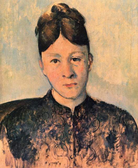 Paul Cézanne, 'Portriat of Madame Cézanne', 1885, Art History 101