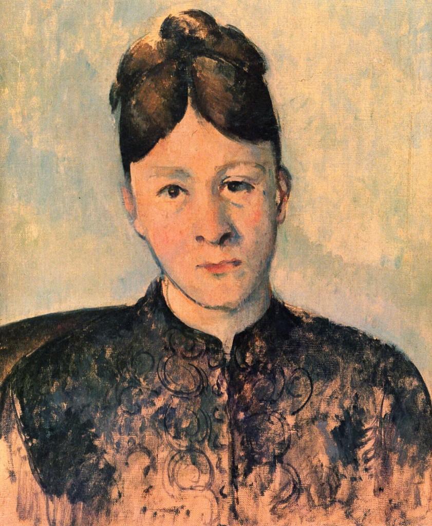 Portriat of Madame Cézanne