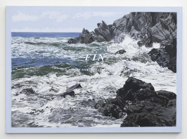 Luke Butler, 'THE END XXXVVI', 2018, Painting, Acrylic on canvas, Charlie James Gallery