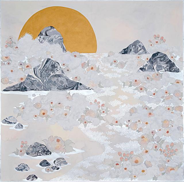 , 'the fog, ''in waves'',' 2019, Galerie du Monde