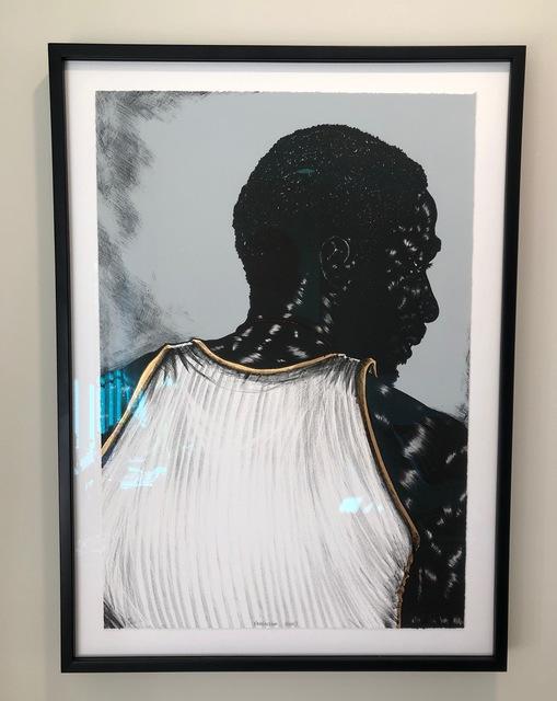 Toyin Ojih Odutola, 'Birmingham (triptych)', 2014/2015, Print, Three, four-colored lithographs with gold leaf, Artsy x Rago/Wright