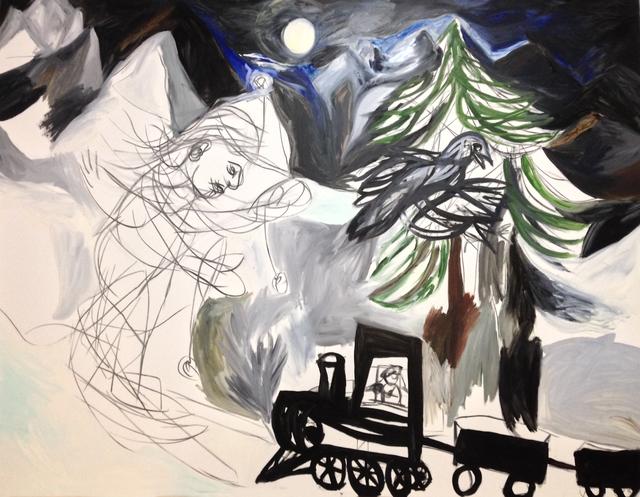 , 'Moonlite Train,' 2006, Galerie Brigitte Schenk