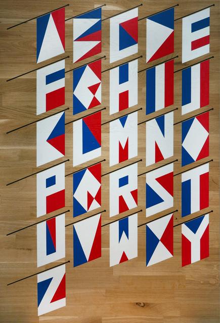 , 'Abécédaire de drapeaux français,' 2017, KOLLY GALLERY