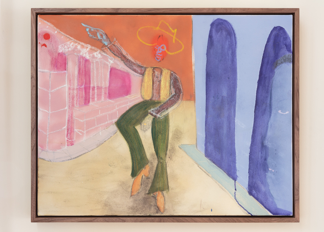 , 'Ol' Time Saga Bwoy,' 2019, Rachel Uffner Gallery