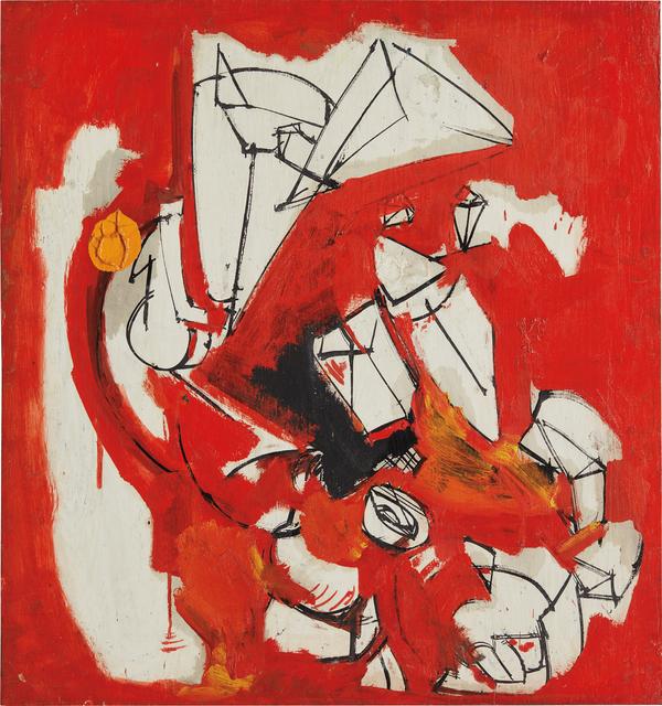 Hans Hofmann, 'Untitled', ca. 1945, Phillips