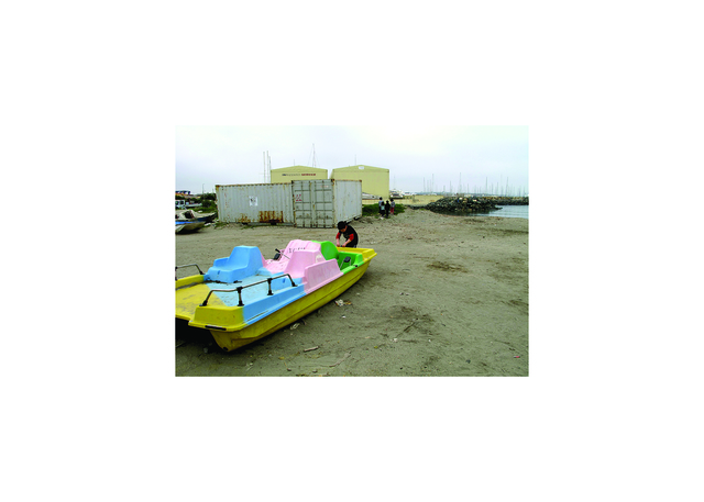 , 'I'm Gonna Live Anyhow Until I Die/ Production photo: Ostia 4: Boat,' 2011-2015, Laveronica Arte Contemporanea