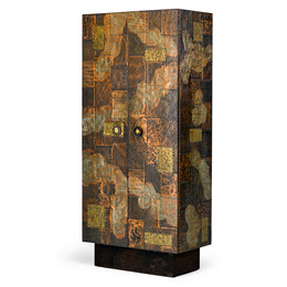 Tall Patchwork cabinet, USA
