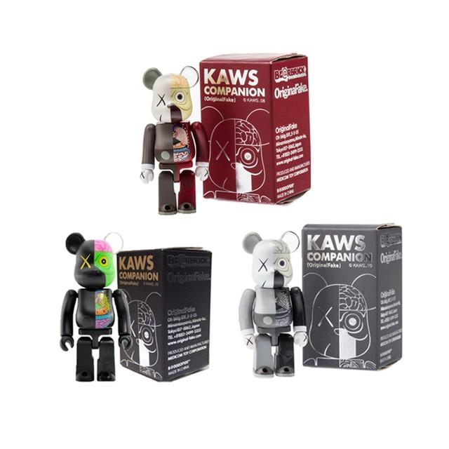 KAWS, '100% Dissected Be@rbrick Companion Set', 2010, Taglialatella Galleries