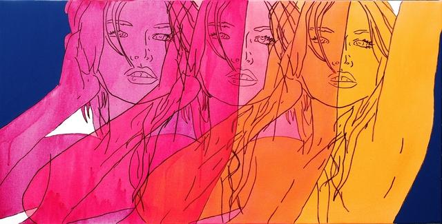 Hilary Bond, 'Sunset Magenta, Pink, Orange', 2015, Artspace Warehouse