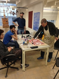 Create a democratic painting with Bob and Roberta Smith, OBE