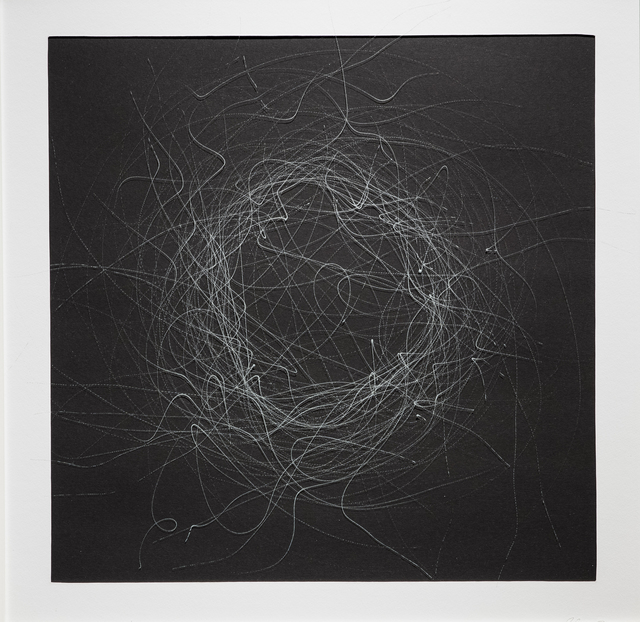 , 'CHAOS DRAWINGS #4	,' 2017, Traver Gallery