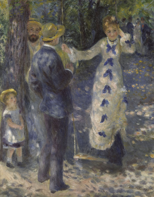 , 'The Swing ,' 1876, The National Art Center, Tokyo