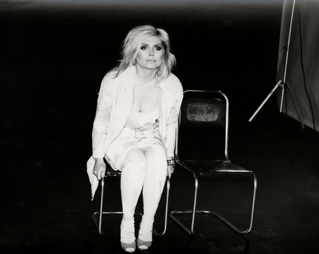 Andy Warhol, 'Andy Warhol, Photograph of Debbie Harry (Blondie) Seated, 1986', 1986, Hedges Projects