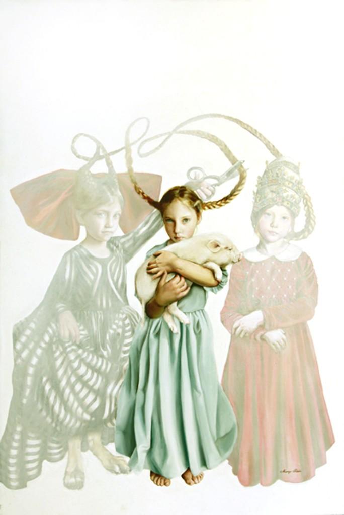 Margo Selski, 'The Three Tatis,' 2011, RJD Gallery