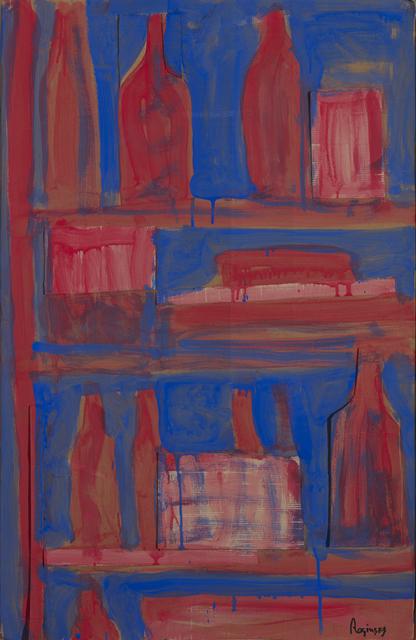 , 'Red bottles on blue background,' 1978, Art4.ru
